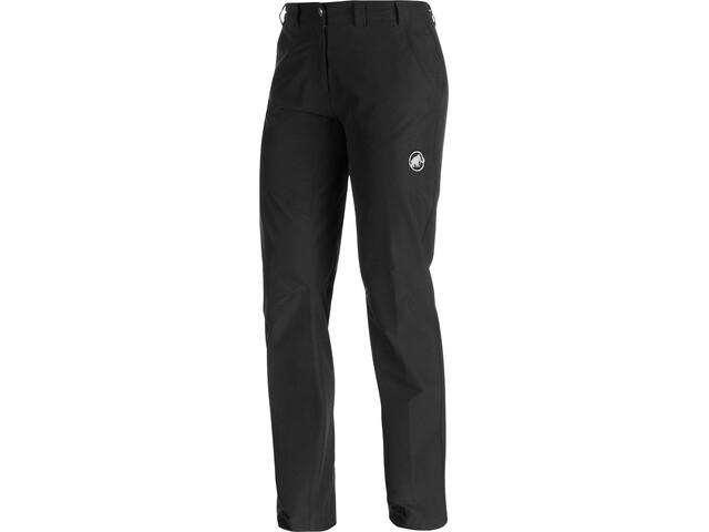 Mammut Hiking Pantalon Taille courte Femme, black